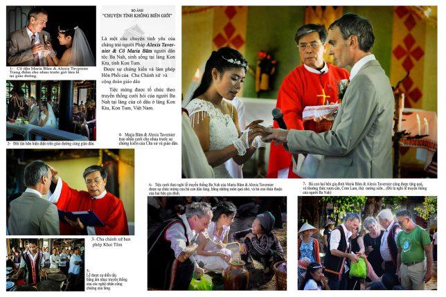 1. NHẤT: Bộ ảnh CHUYỆN TÌNH KHÔNG BIÊN GIỚI | Tác giả: Phạm Huy Đằng – Kon Tum