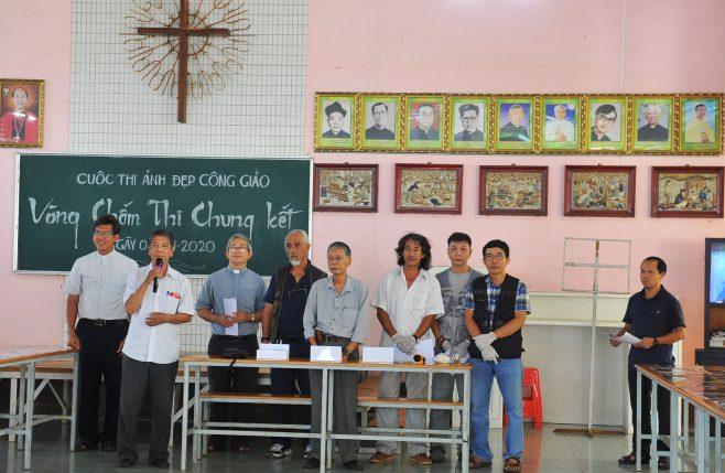 Buổi chấm thi vòng chung kết Nét Đẹp Công Giáo 2020