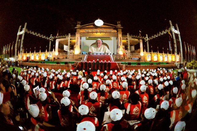 Tác phẩm THÔNG ĐIỆP ĐỨC GIÁO HOÀNGTRONG ĐÊM ĐẠI HỘI GIỚI TRẺ - GIÁO TỈNH HÀ NỘI | Tác giả: Anton Trần Hưng - Nam Định